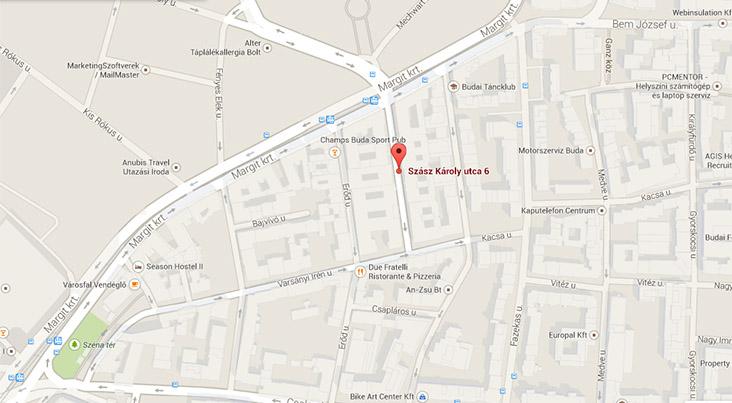 budapest 2 kerület térkép Pszichológus 2. kerület   PszichoFészek pszichológiai magánrendelő budapest 2 kerület térkép